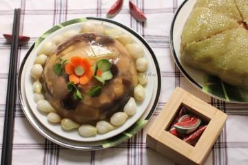 Cách nấu món nấm thịt đông từ nồi áp suất