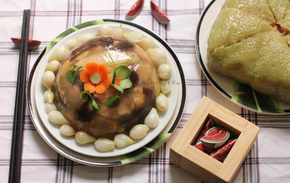 cách nấu món nấm thịt đông