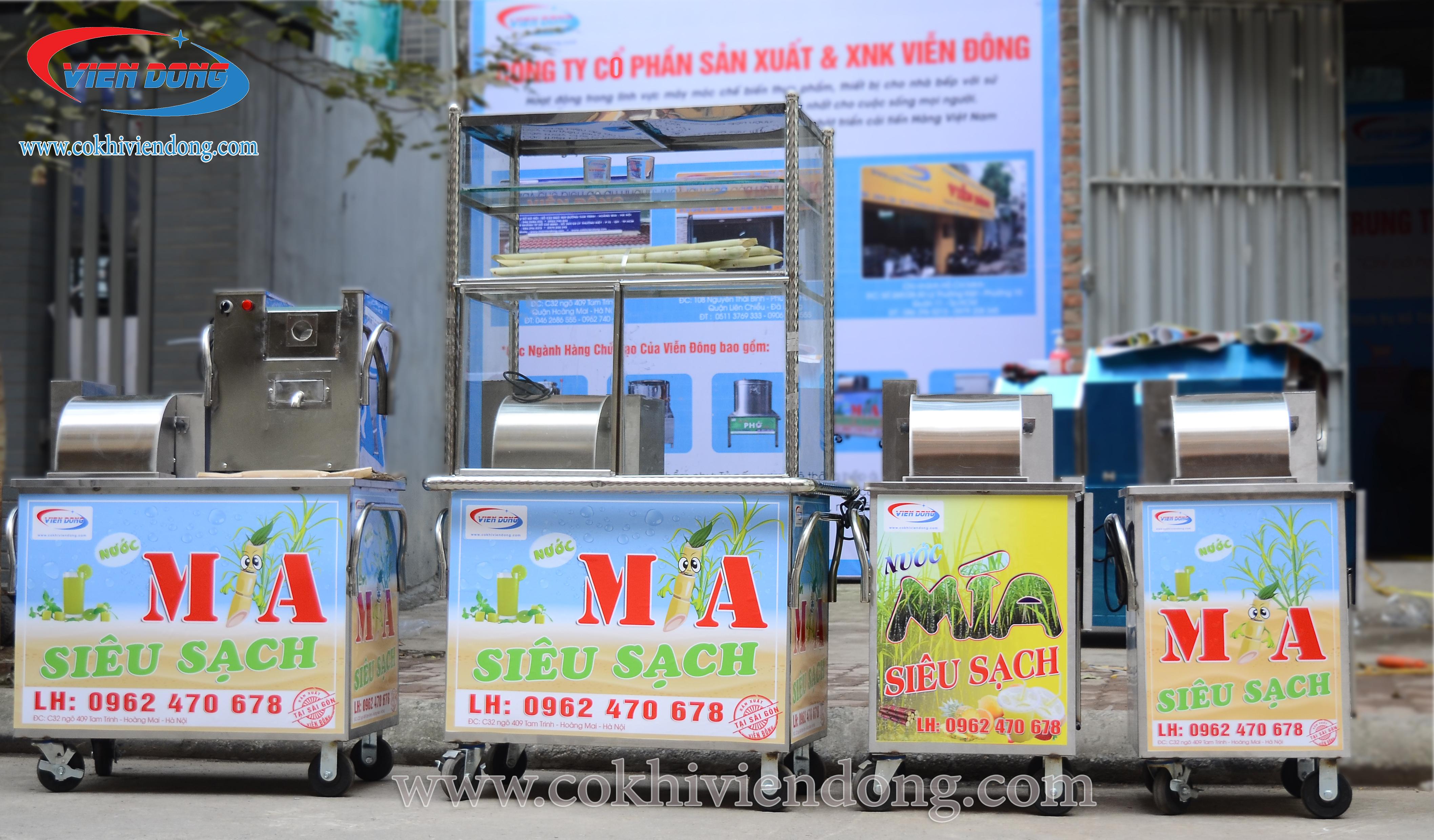 Giá máy ép nước mía siêu sạch Viễn Đông