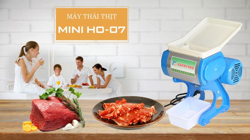 Máy thái thịt gia đình HO 07