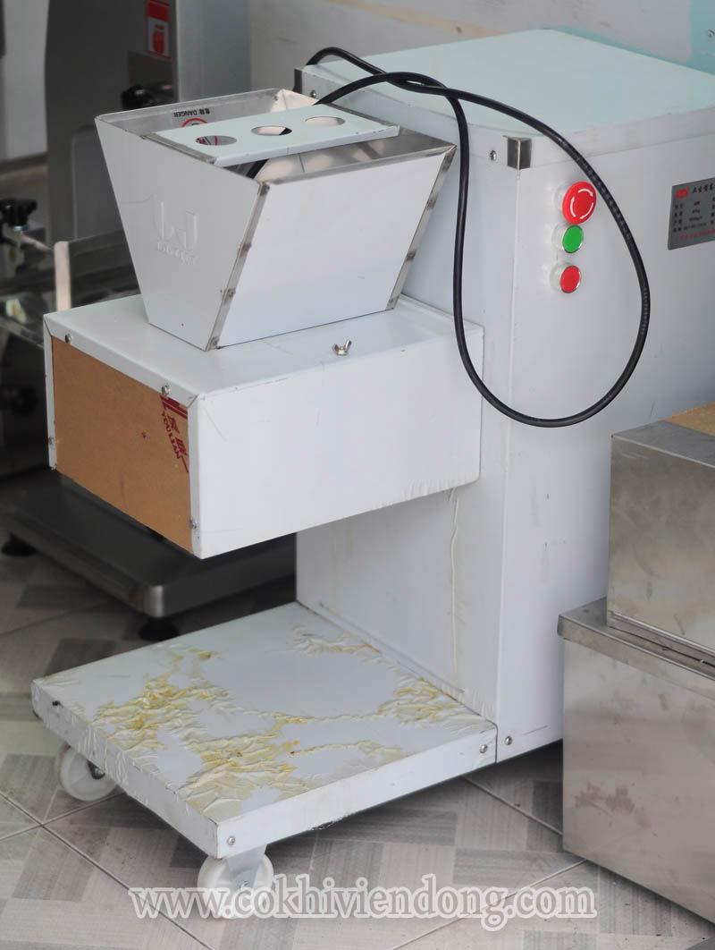 Máy thái thịt công nghiệp- giải pháp tối ưu cho cơ sở chế biến thịt chuyên nghiệp