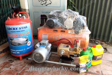 Giá bộ rửa xe máy cơ bản bao nhiêu   Gồm những thiết bị nào?