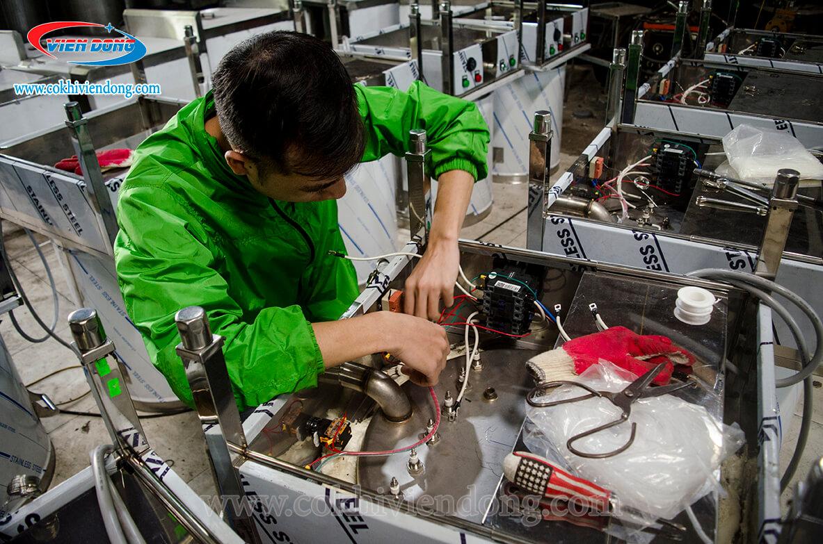 sửa chữa máy móc Viễn Đông