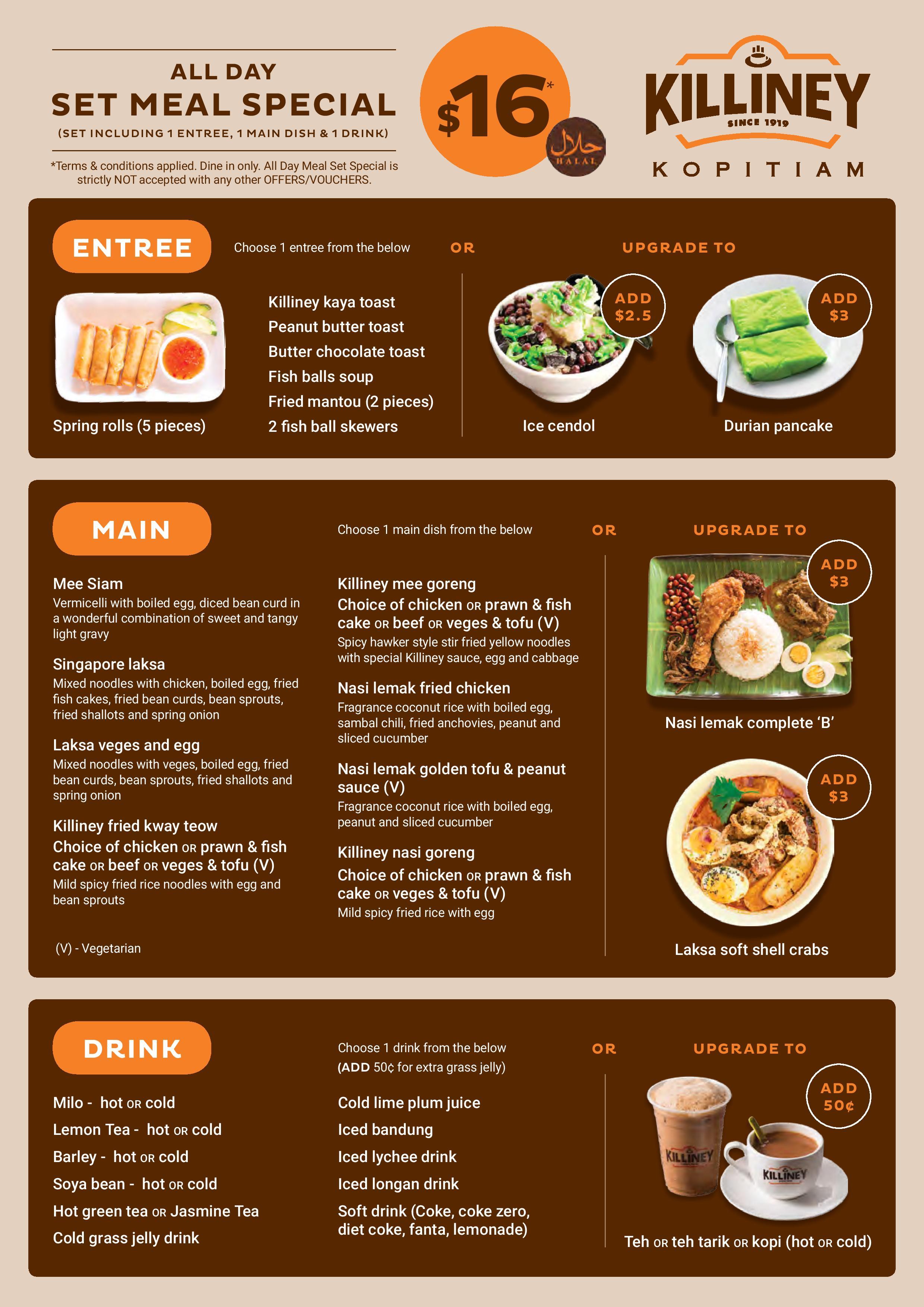 đa dạng menu