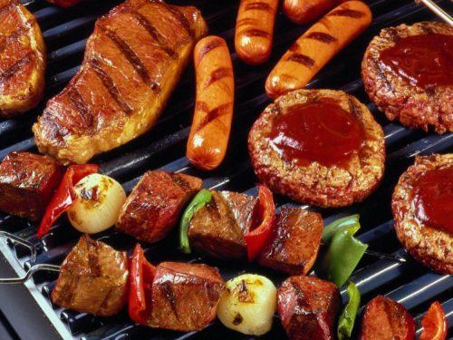 Lò nướng thịt Salamander