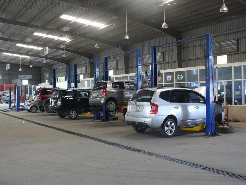 kinh nghiệm mở tiệm rửa xe ô tô