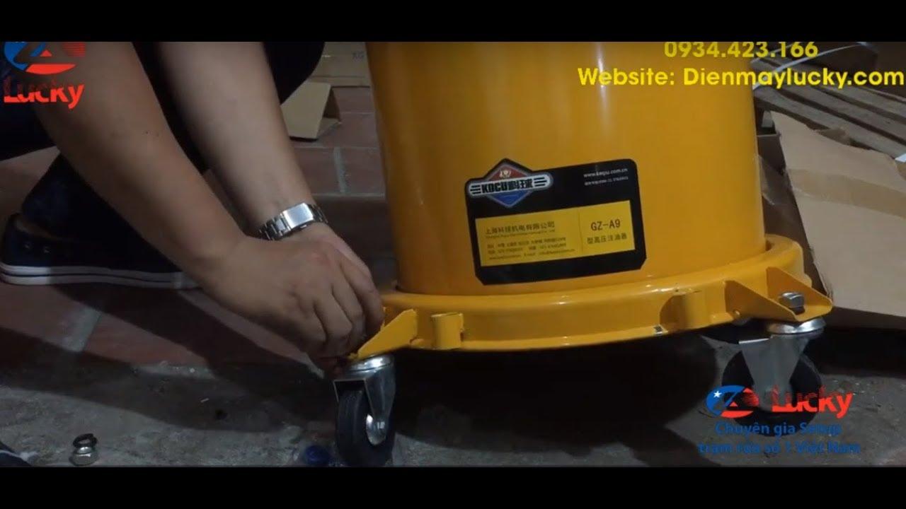 sửa chữa máy bơm mỡ