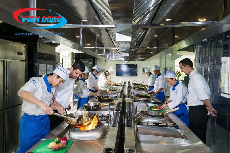 khu nấu chính