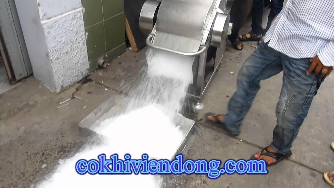 máy xay nước đá Inox