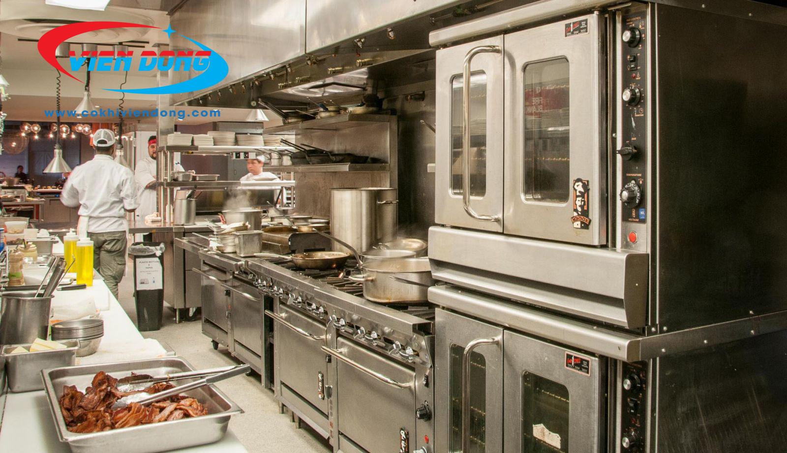 tiêu chuẩn thiết kế bếp nhà hàng