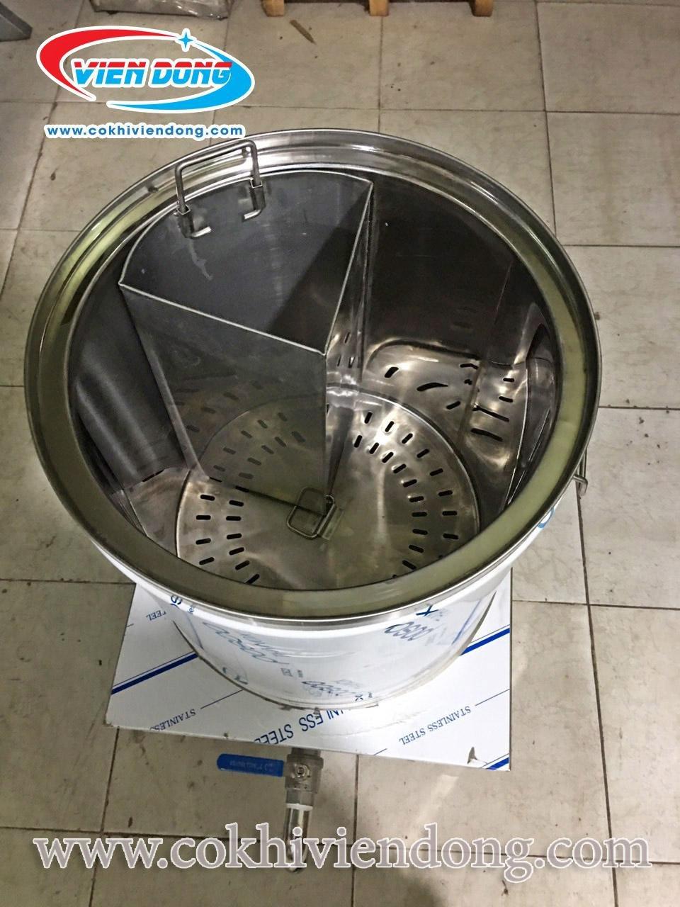 giá nồi nấu phở bằng điện 2 ngăn