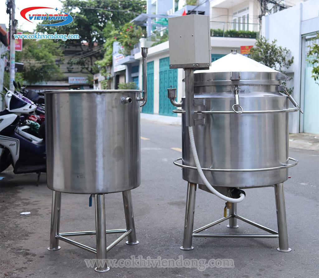 Máy nấu rượu bằng điện 30kg
