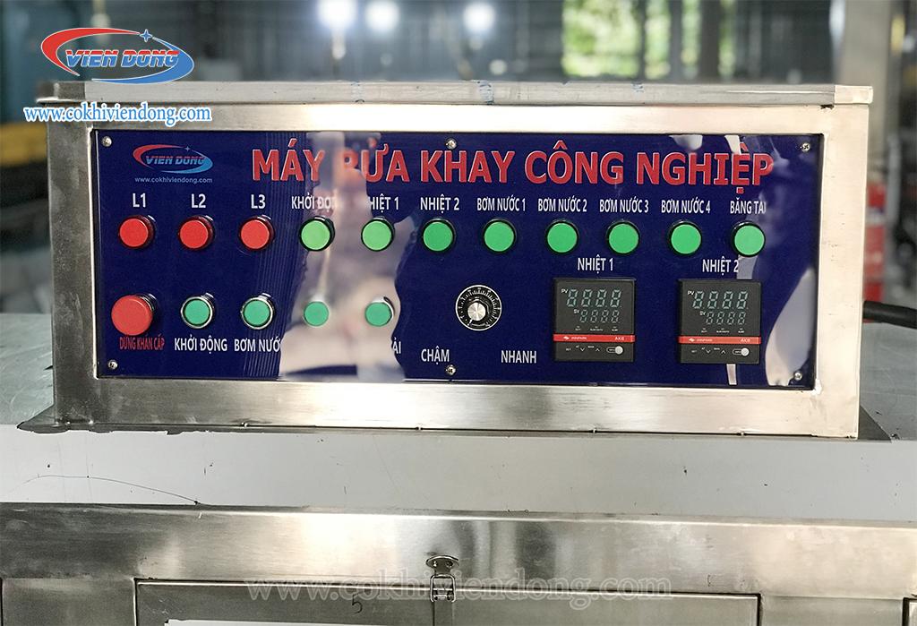 bảng điều khiển của máy rửa bát